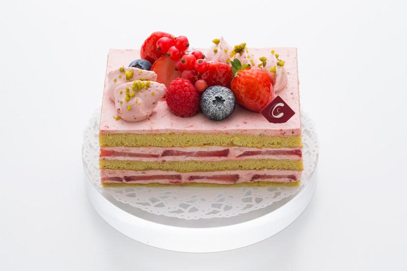 ピスタチオショートケーキ